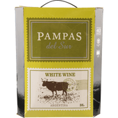 Pampas del Sur White wine in box