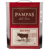 Pampas del Sur Red wine in box