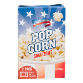 American Popcorn zout