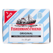 Fishermans Friend Original suikervrij 3 pakken