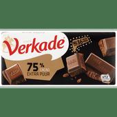 Verkade Chocoladereep extra Puur