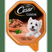 Cesar Cuisine hondenvoer kalkoen & rund in saus