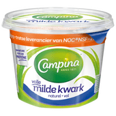 Campina Volle milde kwark naturel