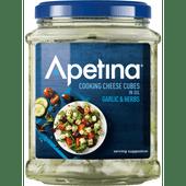 Apetina Classic 45+ kaasblokjes in olie