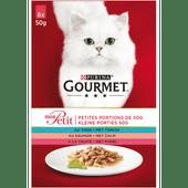 Gourmet Mon petit tonijn-zalm-forel 6 stuks