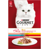 Gourmet Mon petit duo vlees en vis 6 stuks