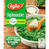 Iglo Spinazie boursin