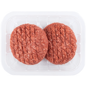 Magere runderhamburger 2 stuks