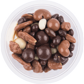 Chocolade yoghurt melange