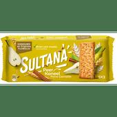 Sultana Fruitbiscuit peer en kaneel 5 x 3 stuks