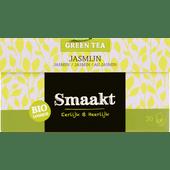 Smaakt Groene thee biologisch jasmijn