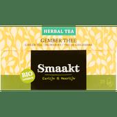 Smaakt Herbal thee biologisch gember