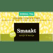 Smaakt Herbal thee biologisch gember-citroen