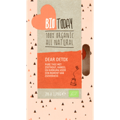 Bio Today Thee organic biologisch dear detox