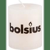 Bolsius Kaars rustiek ivoor 8 cm