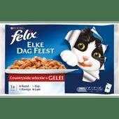 Felix Elke dag feest vlees in gelei 4 stuks