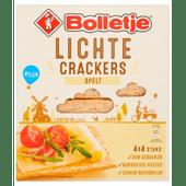 Bolletje Lichte crackers spelt 4 x 4 stuks