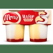 Mona Vlaflip vanillevla yoghurt, 2 stuks