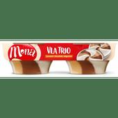 Mona Vla trio karamel chocolade slagroom 2 stuks