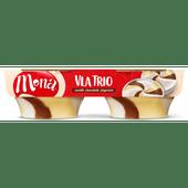 Mona Vanille chocolade slagroom 2 stuks
