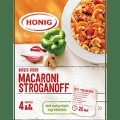 Honig Kruidenmix macaronisaus stroganoff