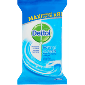 Dettol Reinigingdoekjes power & fresh oceaanfris