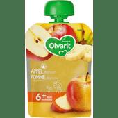 Olvarit Knijpzakje appel-banaan