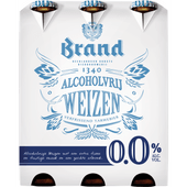 Brand 0.0% weizen max. 24 4- of 6-packs per klant