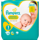 Pampers New born maat 1