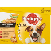 Pedigree Adult selection in saus 12 pack
