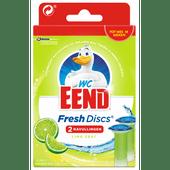 WC-EEND Fresh discs navulling lime