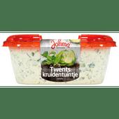 Johma Twents kruidentuintje salade