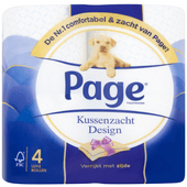 Page Toiletpapier decor 4-laags