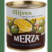 Merza Olijven gevuld met citroen