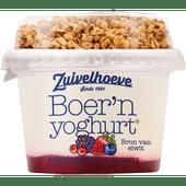 Zuivelhoeve Boer'n yoghurt muesli bosvruchten