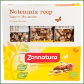 Zonnatura Biologische notenmix reep amandel 3 stuks