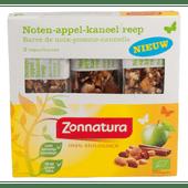 Zonnatura Biologische notenreep appel kaneel 3 stuks