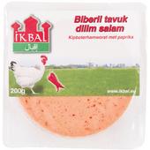 Wahid Ikbal biberli tavuk dilim sala Kipboterhamworst paprika