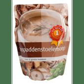 1 de Beste Soep in zak bospaddenstoelen