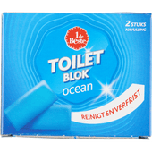 1 de Beste Toiletblok Aqua navulling 2 stuks