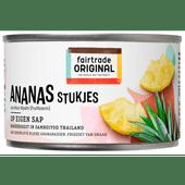 Fairtrade Ananasstukjes op sap