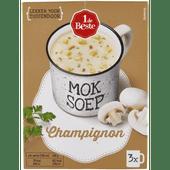 1 de Beste Mok soep champignon