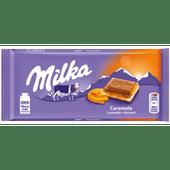 Milka Chocoladereep caramel
