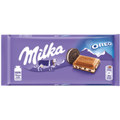 Milka Oreo melk chocolade reep