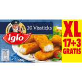 Iglo Vissticks 20 stuks