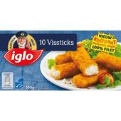 Iglo Vissticks 10 stuks