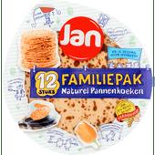 Jan Pannenkoeken familiepak 12 stuks