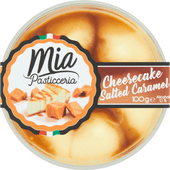 Mia Pasticceria Cheesecake salted caramel mousse