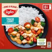 Iglo Thaise curry ping & klaar kipfilet en groenten