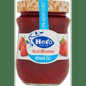 Hero Minder zoet jam aardbeien